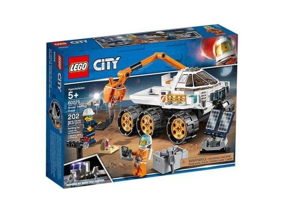 LEGO CITY ESPACIO SPACE PRUEBA DE CONDUCCIÓN DEL RÓVER 60225