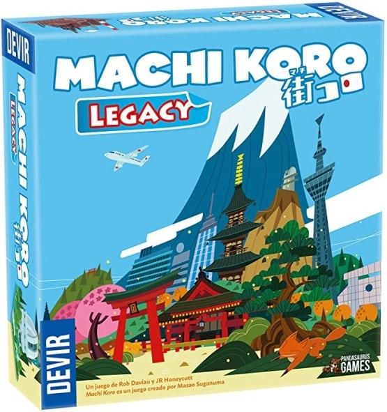 Machi Koro Legacy – ESPAÑOL