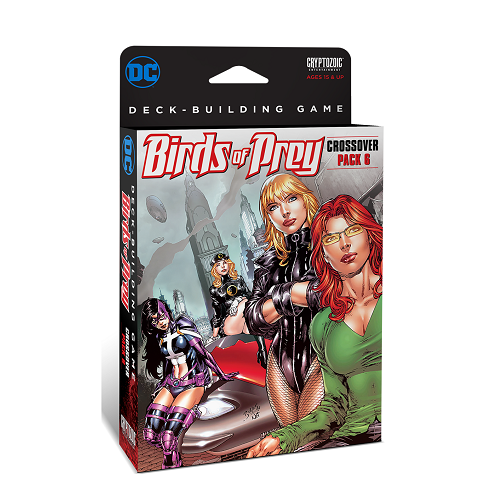 DC Comics Deck-Building Game: Crossover Pack 6 – Birds of Prey INGLÉS (SOBRE PEDIDO)