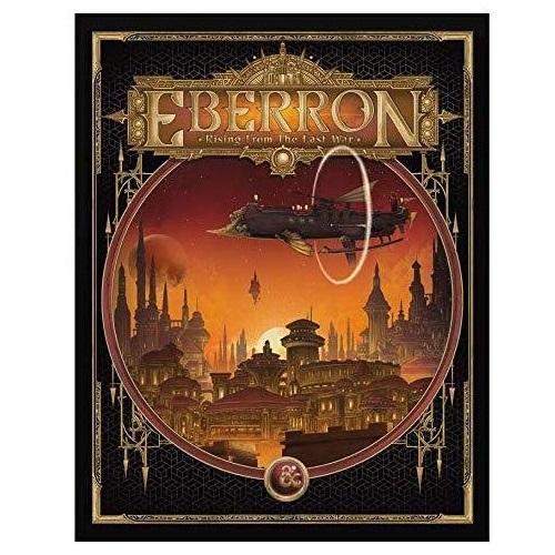 D&D Eberron: Rising from the Last War alt cover (sobre pedido)