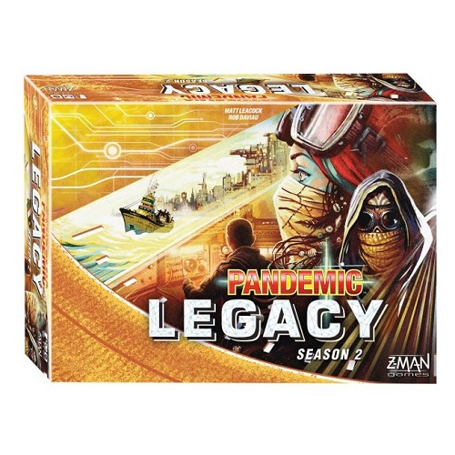 Pandemic: Legacy Season 2 – Yellow Edition (English) (Sobre pedido)