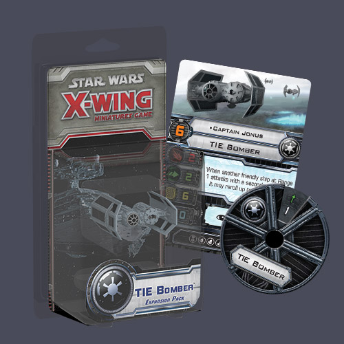 Star Wars: X-Wing – TIE Bomber Expansion Pack (SWX15) (sobre pedido)