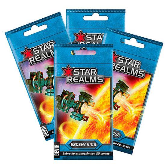 Star Realms Escenarios (Display)(SOBRE PEDIDO)
