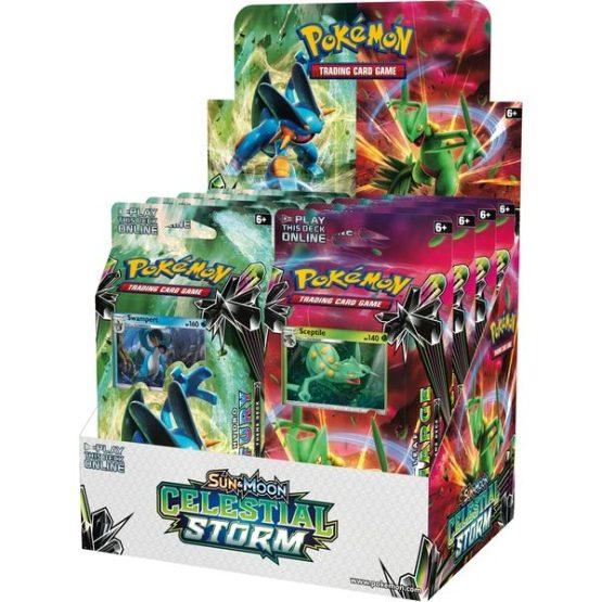 Pokémon TCG: Sun & Moon—Celestial Storm Theme Deck Display (SOBRE PEDIDO )