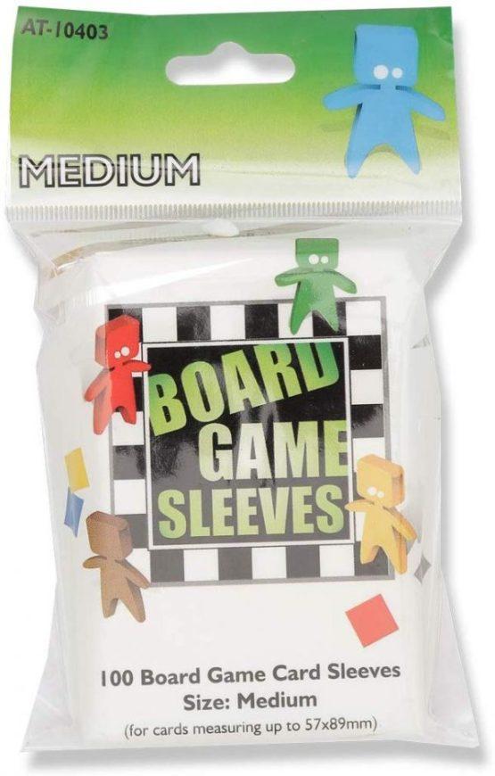 Arcane Tinmen: Medium Board Game Sleeves 100ct. (American) (57 x 89 mm)(SOBRE PEDIDO)