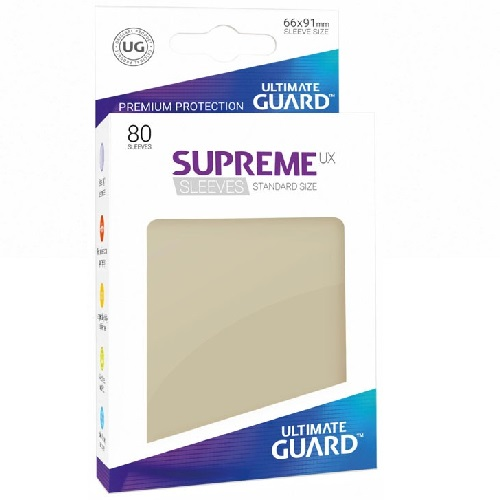 Ultimate Guard Supreme UXSLVS STD Sand (80) (UGD010548CN) ( SOBRE PEDIDO)