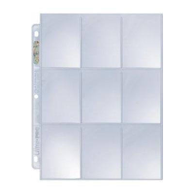 Silver Series 9-pocket Page, 100 ct. box (SOBRE PEDIDO)