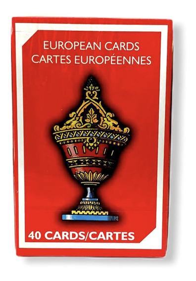 Barajas Españolas Victoria European / Cartas Europeas