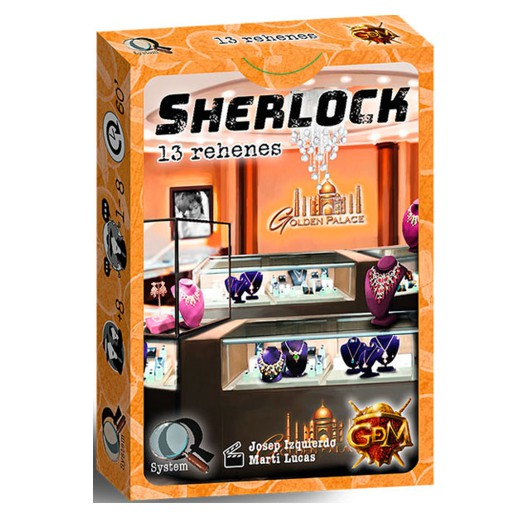 Sherlock: 13 Rehenes ESPAÑOL (SOBRE PEDIDO)