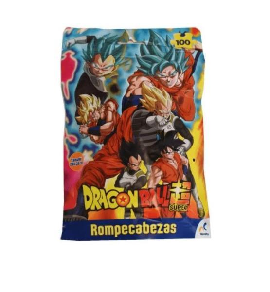 ROMPECABEZAS DRAGON BALL SUPER BOLSA FOIL 100 PZAS