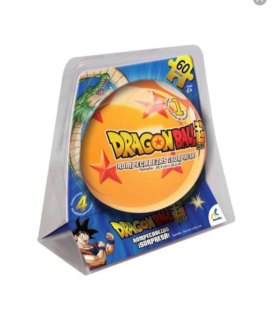 Rompecabezas Sorpresa con Esfera Dragon Ball Z