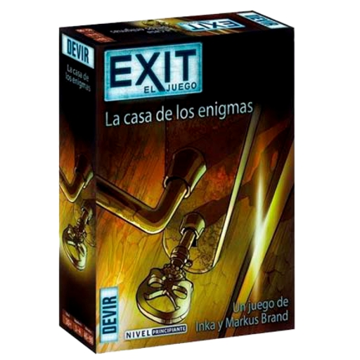 EXIT 12 – La Casa de los Enigmas – Nivel: Principiante