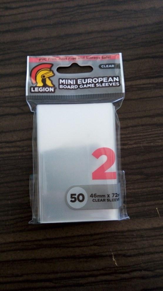 Legion Sleeves: Micas Protectoras Mini European (para catan) 2