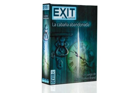 EXIT 01 – La Cabaña Abandonada (SOBRE PEDIDO)