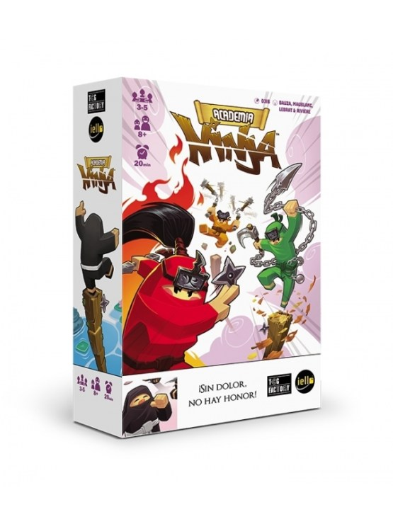 Academia Ninja – Juego De Cartas (SOBRE PEDIDO)