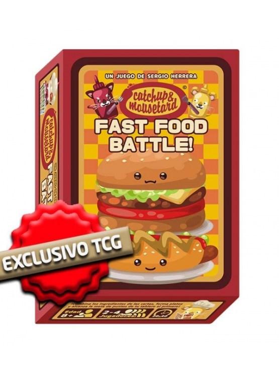 Catchup & Mousetard – Fast Food Battle! – Juego De Mesa Mixin Games (SOBRE PEDIDO)
