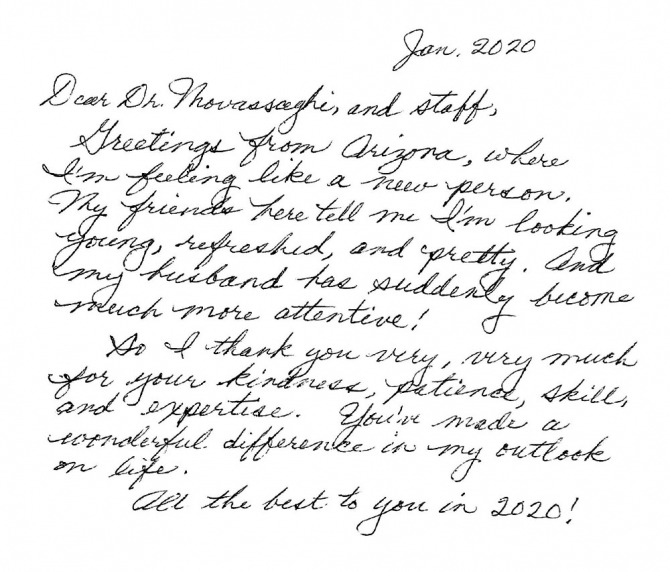 Thank You Letter To Doctor From Patient Samples