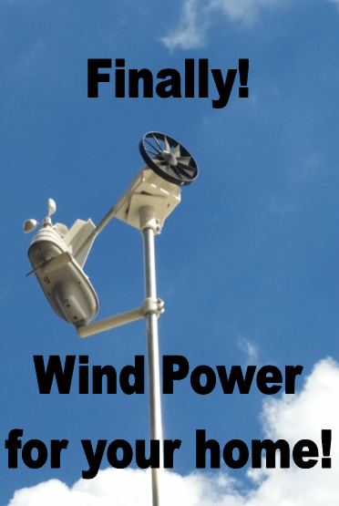 New Tiny Micro Wind Turbine Technology for Off-grid Living