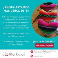 Las Palmas – nuevo espacio para Gotita