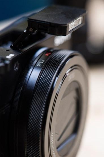 Camera's Pop-Up Flash