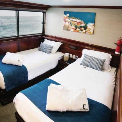 Master Cabin Two Twin Beds
