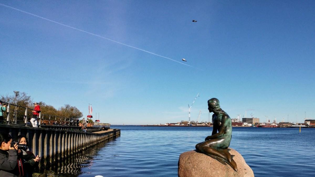 Copenhagen - The little Mermaid Statue