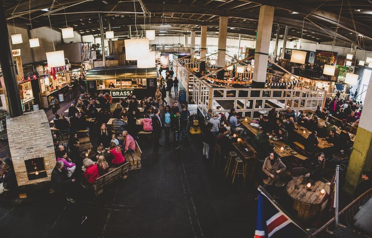 Copenhagen Street Food Hall