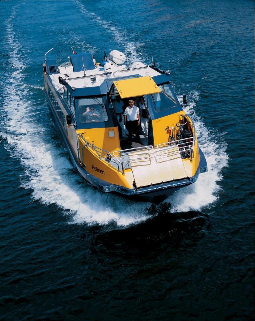 Copenhagen bus boat