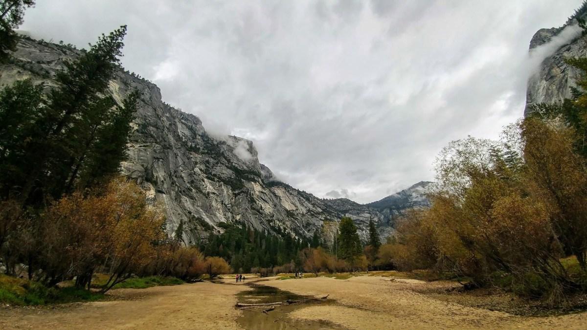 US Road Trip: Mirror Lake at Yosemite National Park