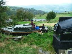 The boatel - unusual places to stay in Wales