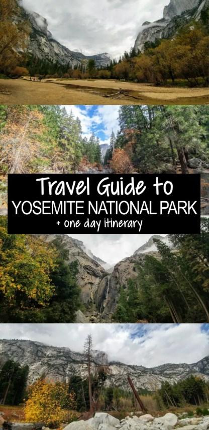 Pin1 Yosemite National Park