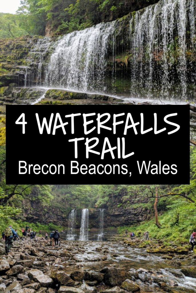 The Four Waterfalls Walk, Brecon – My Alternative Route with Map +
