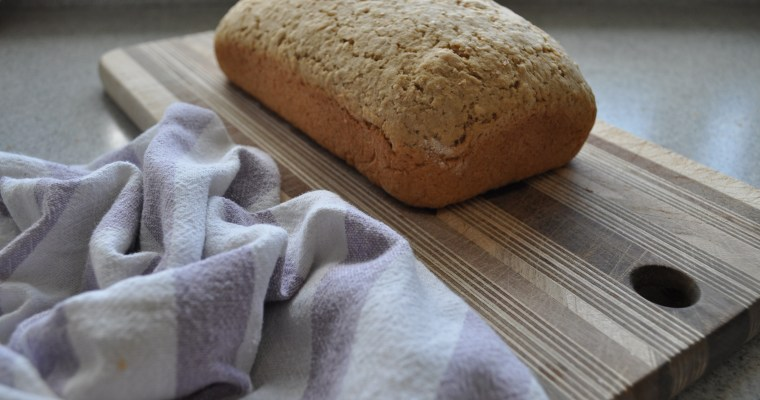 Whole-Wheat Oatmeal Bread