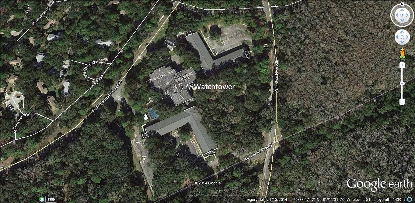 Centro de entrenamiento de la Watchtower en Palm Coast, FL - GoToby.com