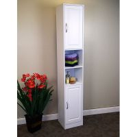 Narrow White Storage Cabinet | Gotofurniture