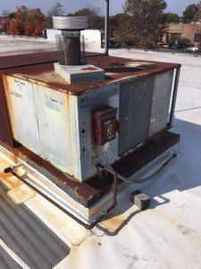Old Hvac Unit