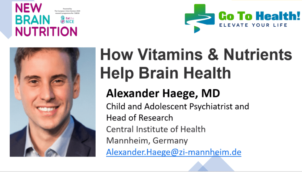 Alexander Hage How Vitamins and Nutrients Help Brain Health