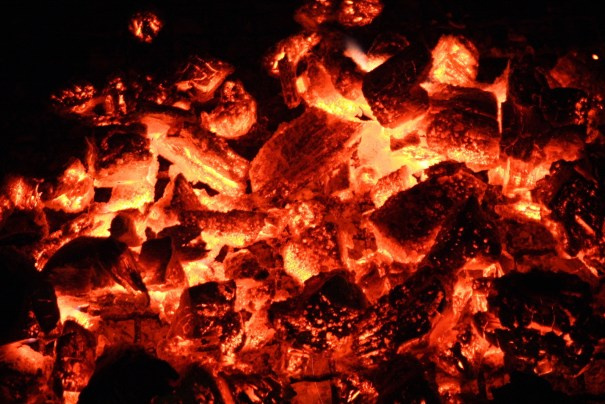 Romans 12:20 (NRSV) if your enemies are hungry, feed them; if they are thirsty, give them something to drink; for by doing this you will heap burning coals on their heads.