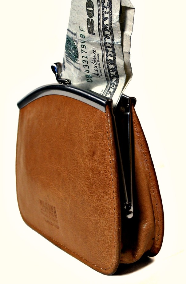 Money from change-purse