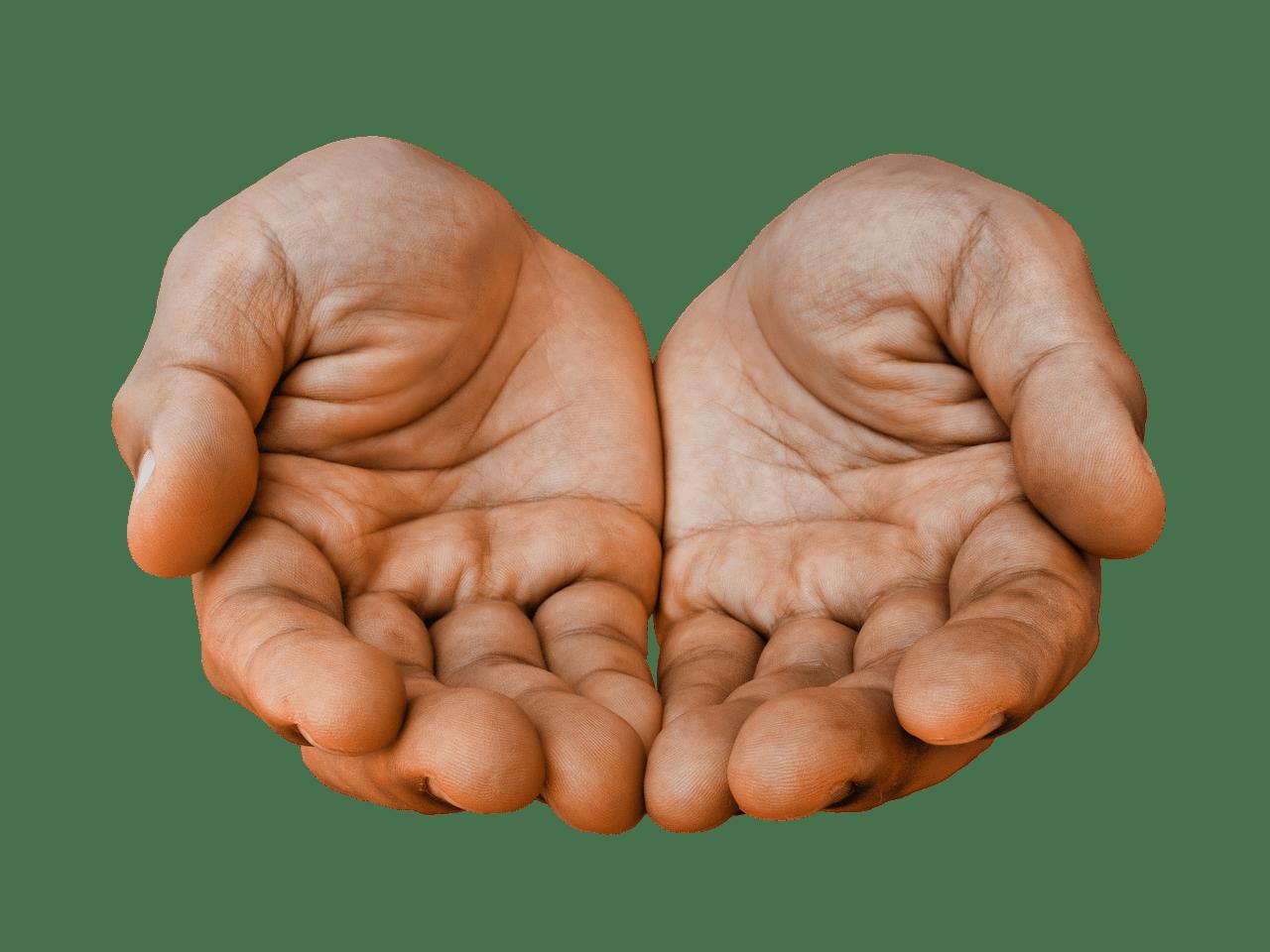 Afbeeldingsresultaat voor empty hands
