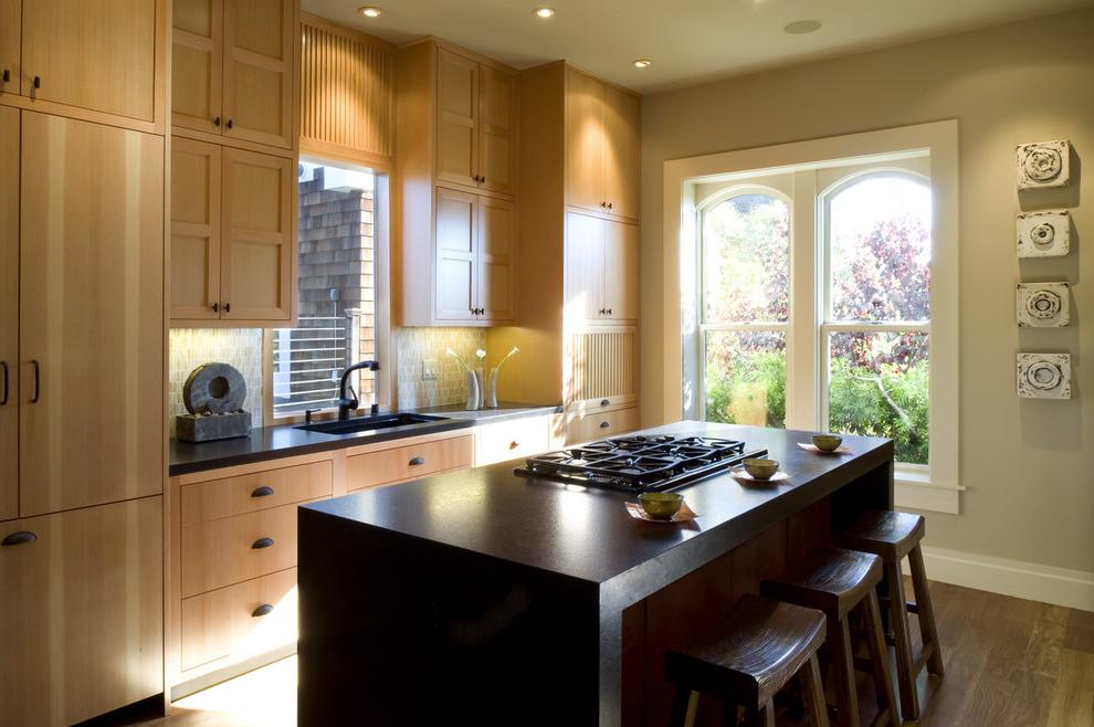 Asian Contemporary Kitchen Cabinets 855  Kitchen Ideas