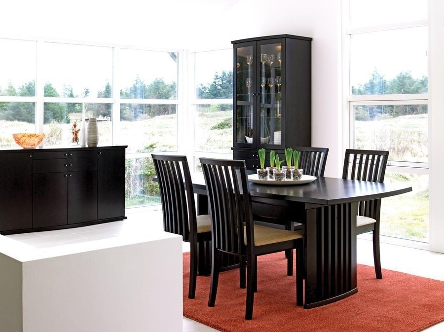 Contemporary Dining Room Sets With China Cabinet 1192 Dining Room Ideas