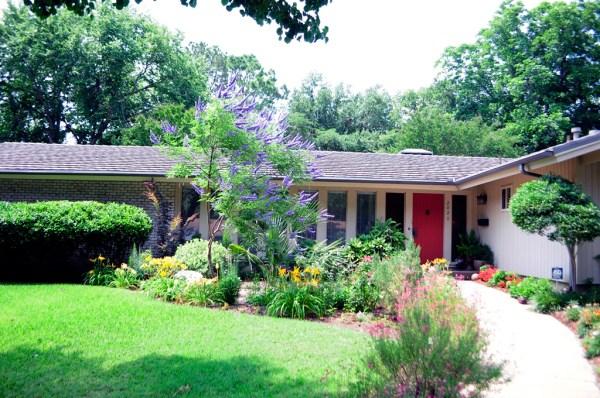 front garage landscaping design