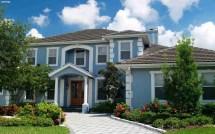Blue Exterior House Paint Color Ideas