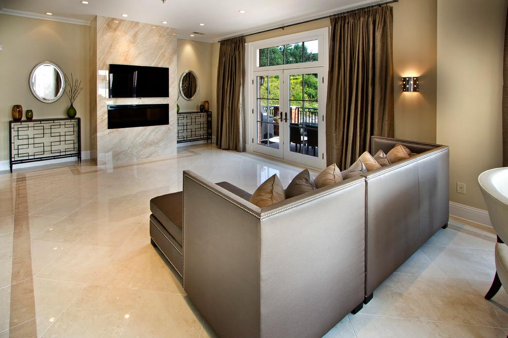 Best Marble Flooring For Living Room Decor 556 Living