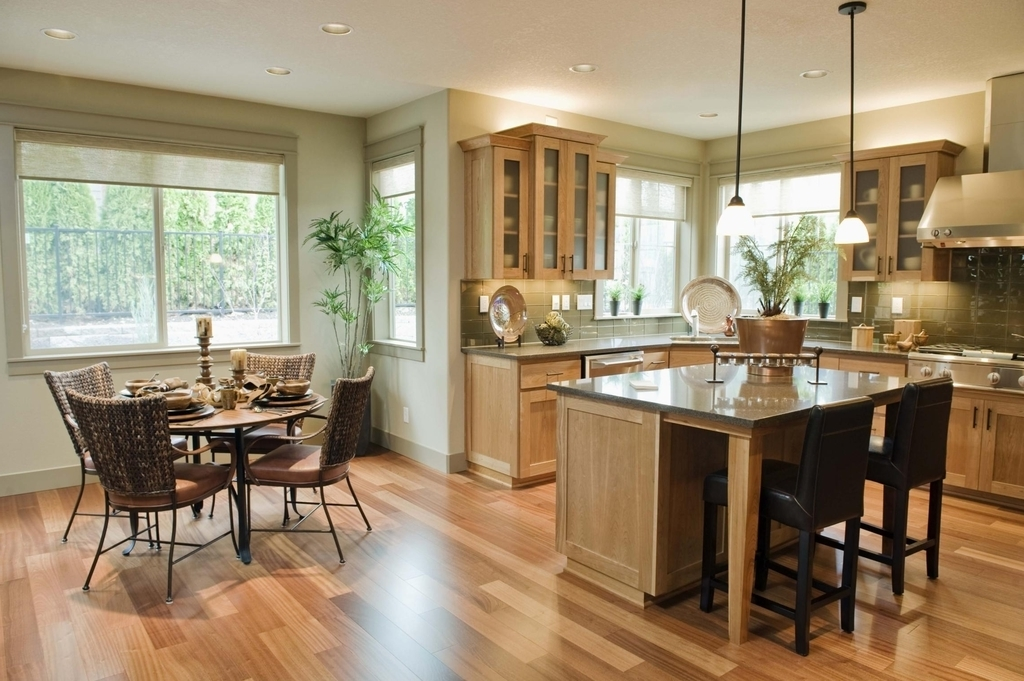 Rd.com home we'll show you how to use the stuff lying around your home to. Applying Some Interior Design For Open Kitchen With Dining ...