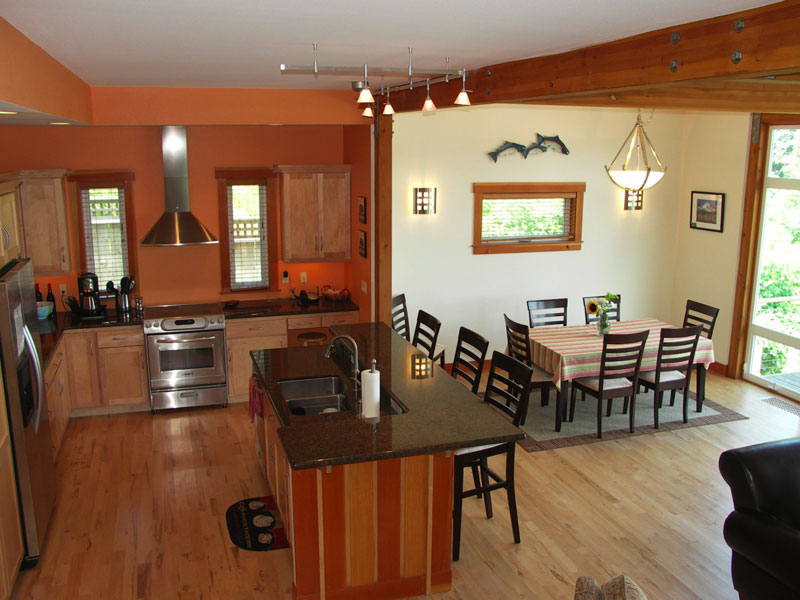 Compact Style Dining Room And Kitchen 2451  Dining Room