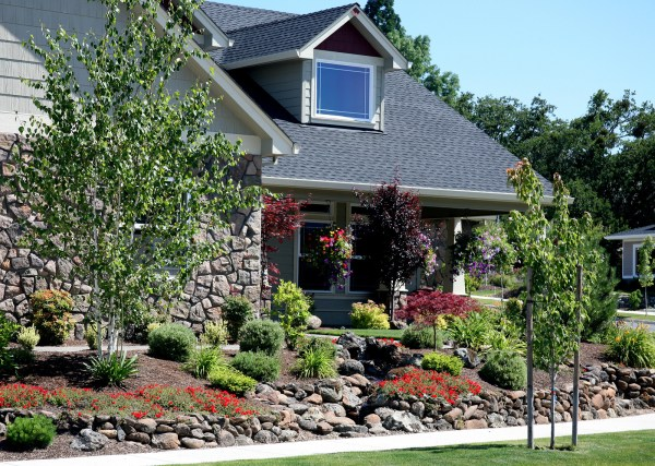 steps landscaping and curb appeal