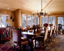 Mountain Home Rustic Dining Chandeliers