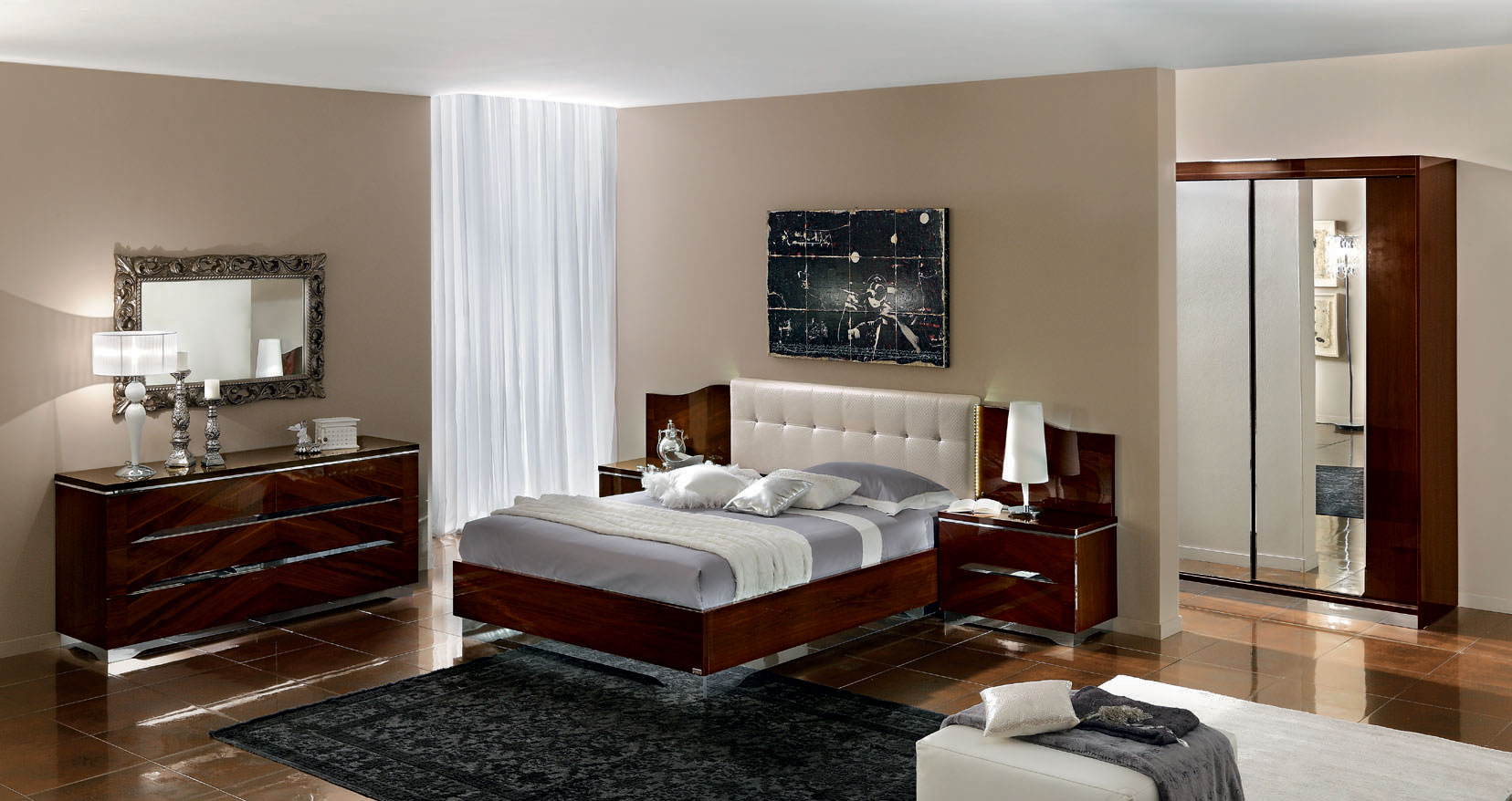 The Simplicity Of Modern Bedroom Furniture 2671  Bedroom